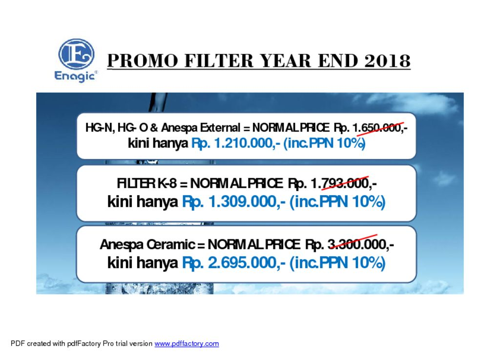 thumbnail of FILTER SALE