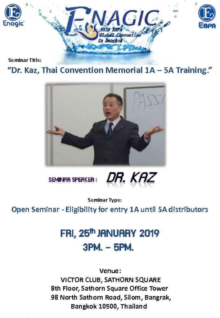 thumbnail of DR.KAZ SEMINAR
