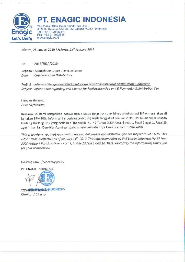 thumbnail of surat pengumuman pengenaan biaya ppn register dan administrasi epayment